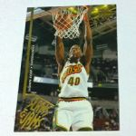 1995-96 Upper Deck Seattle Supersonics Basketball Card #357 Shawn Kemp SJ